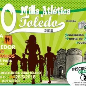 La Milla Atlética de Toledo cumple tres décadas de historia y deporte con una nueva cita este sábado en el Paseo Merchán