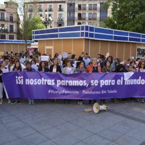 El Gobierno se suma a la movilización feminista para que se dote de presupuesto el Pacto de Estado contra la Violencia de Género