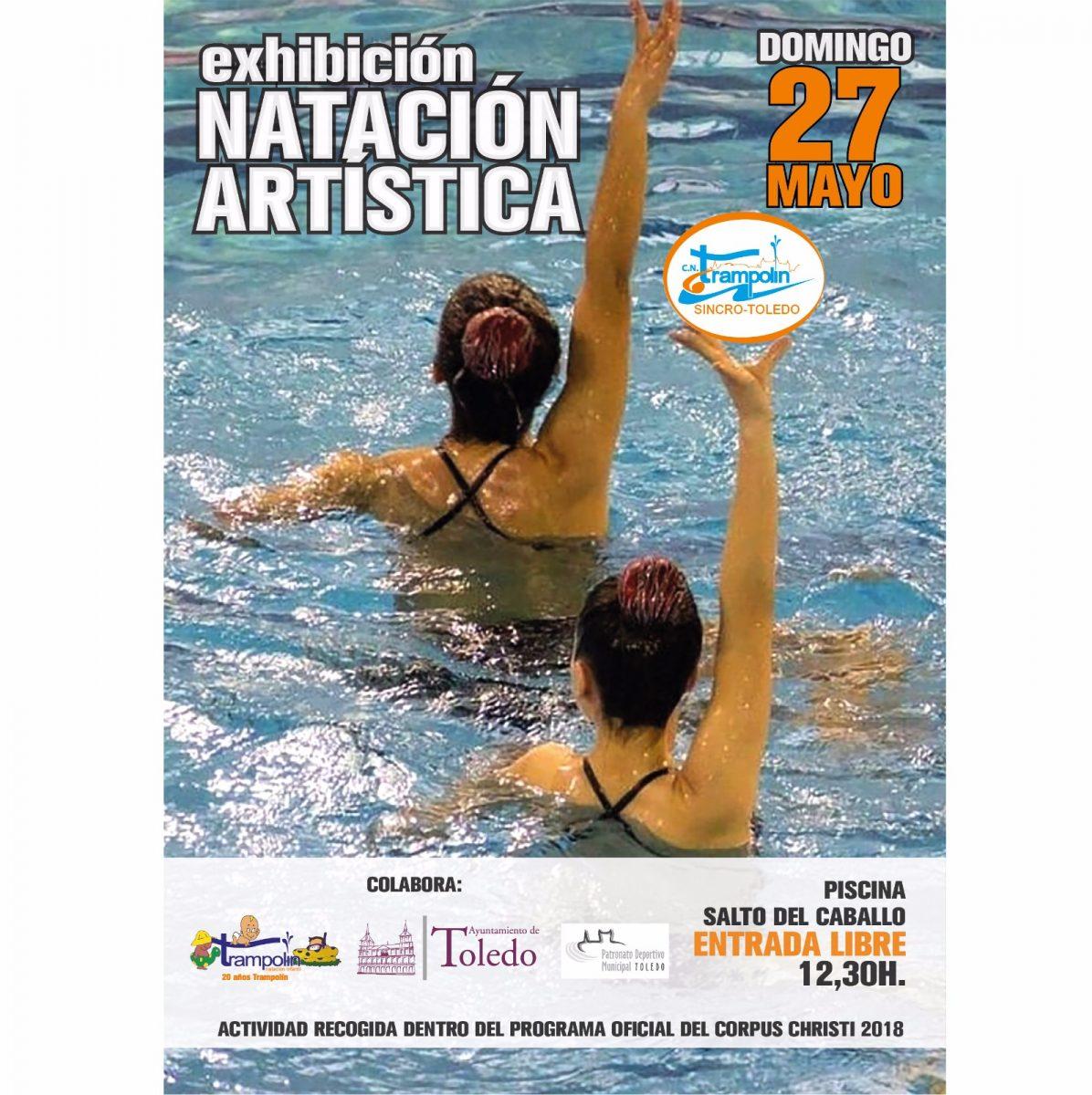 Exhibición de Natación Artística