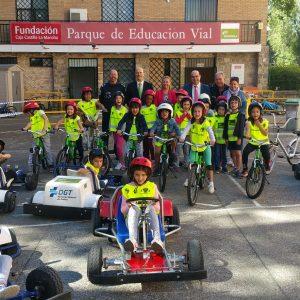 Un convenio de colaboración entre Iberdrola y el Ayuntamiento mejorará el mantenimiento y material del Parque de Educación Vial