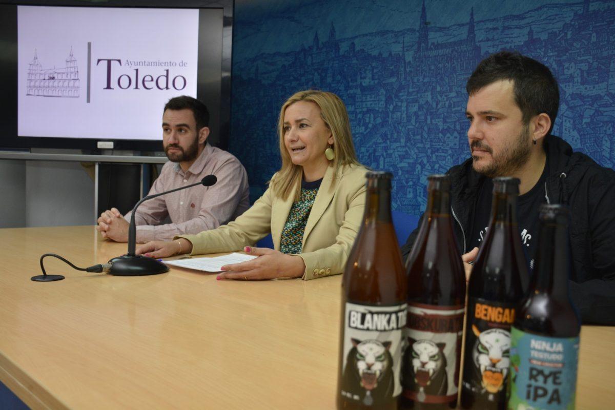 https://www.toledo.es/wp-content/uploads/2018/05/presentacion-ii-feria-cerveza-1200x800.jpg. El Polígono acoge la II Fiesta de la Cerveza Artesana el sábado 19 de mayo con música en directo y más de 60 cervezas diferentes