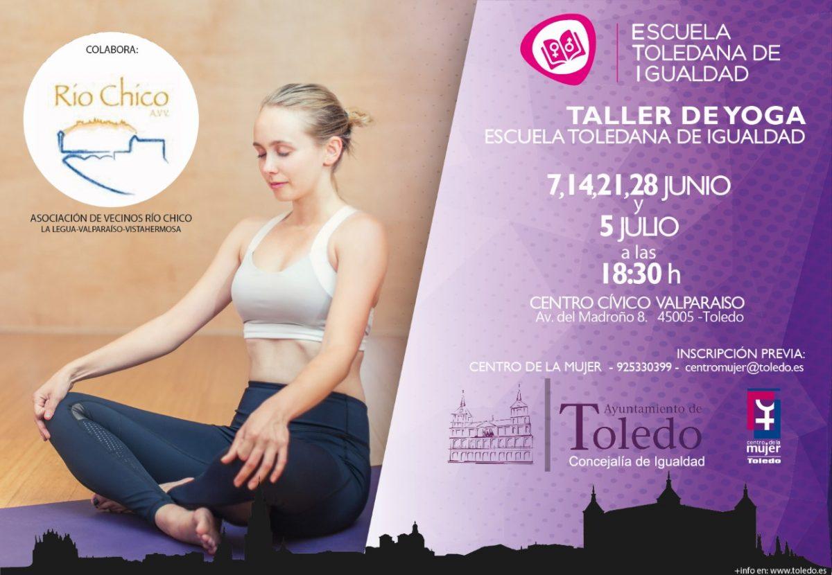 Taller de yoga para mujeres