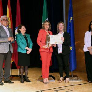 oledo recibe la Escoba de Platino, máximo galardón del certamen que premia a las ciudades más limpias de España