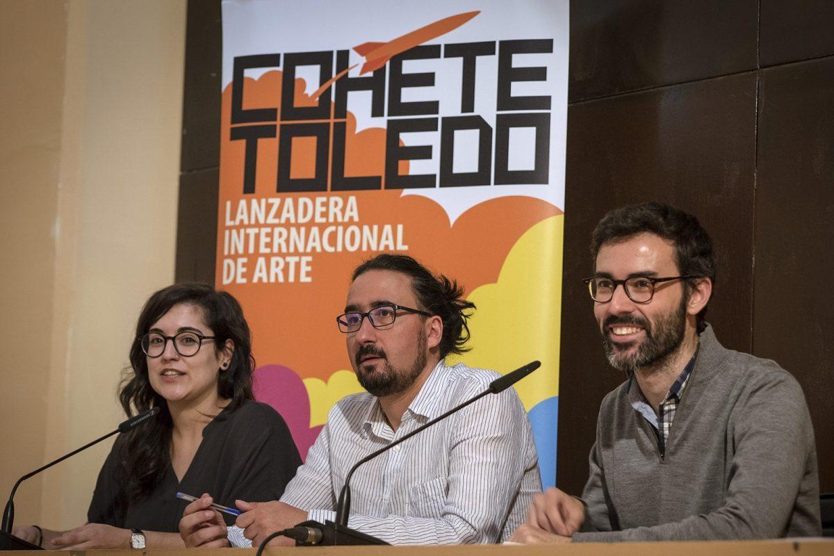 http://www.toledo.es/wp-content/uploads/2018/06/01-presentacion-cohete-toledo-1200x800-1-1200x800.jpg. El festival de arte contemporáneo 'Cohete Toledo' regresa a la ciudad con nuevas propuestas artísticas y culturales en la calle
