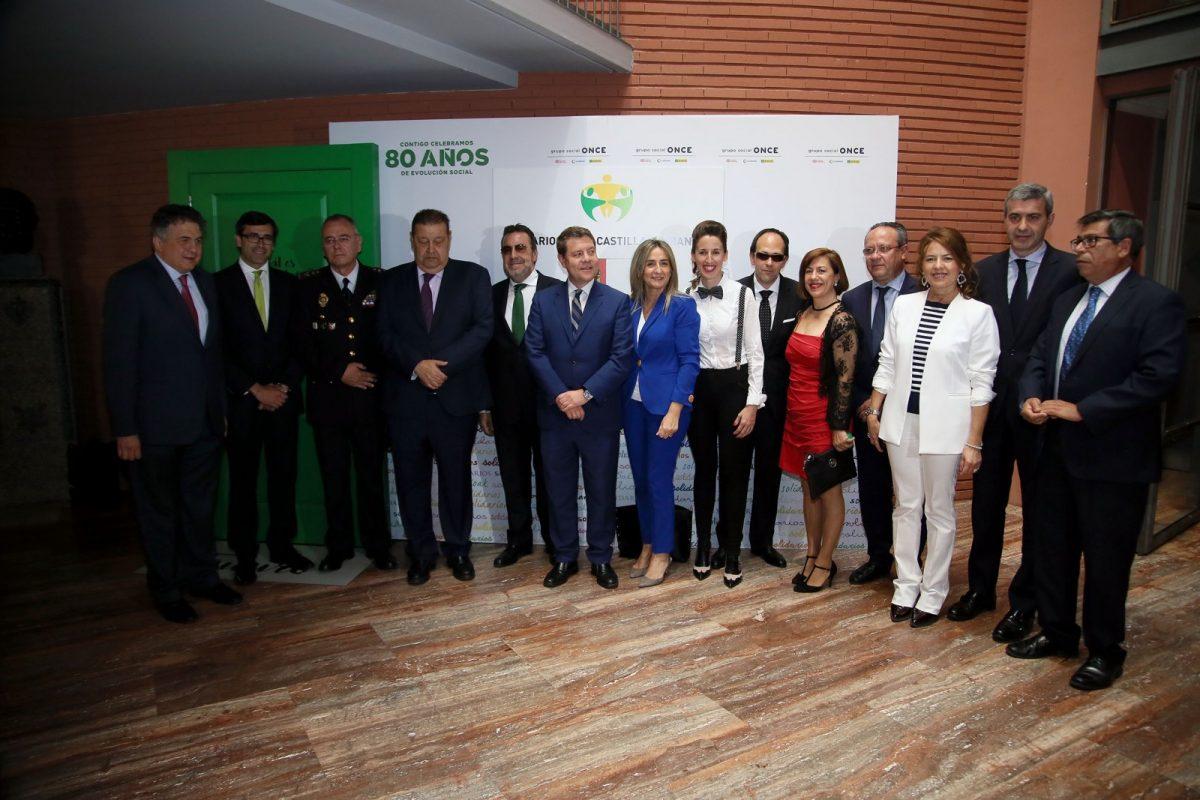 La alcaldesa destaca la contribución de las entidades premiadas por la ONCE a una sociedad integradora, abierta y solidaria