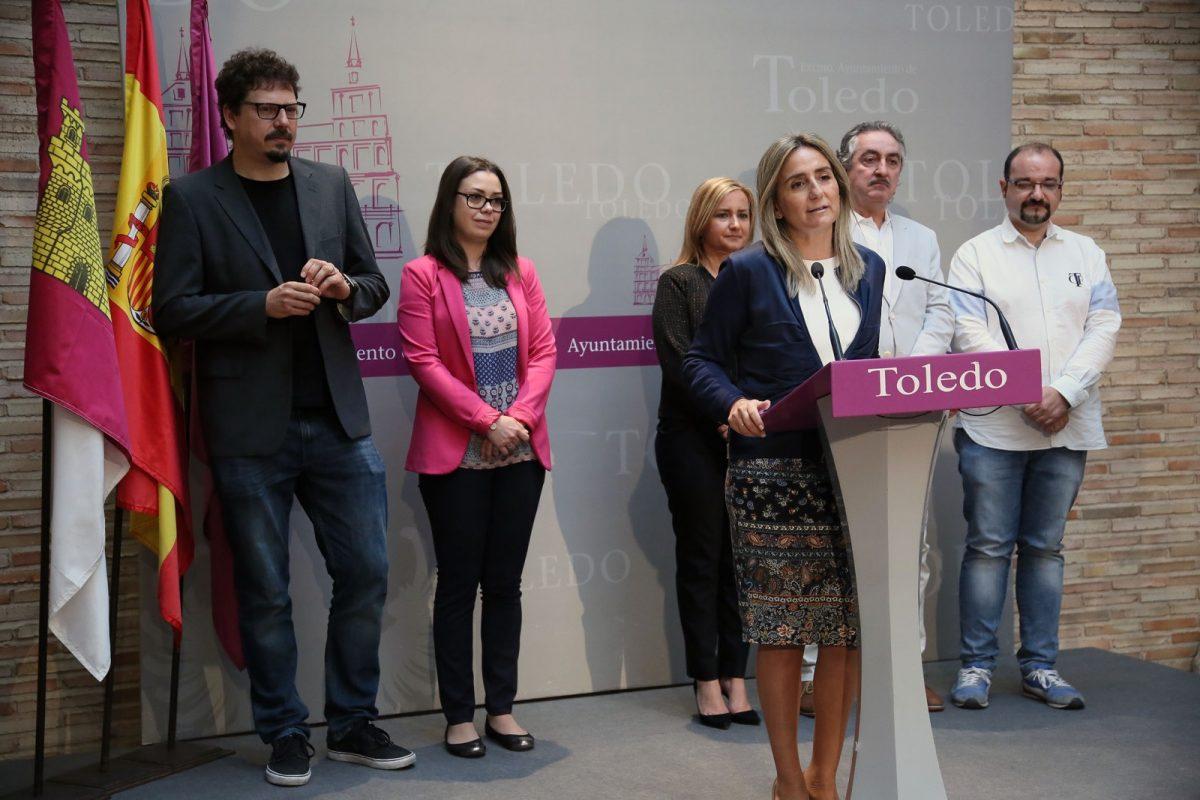 """La alcaldesa destaca la respuesta masiva y multitudinaria de público en el Corpus 2018, """"uno de los mejores de la historia"""""""