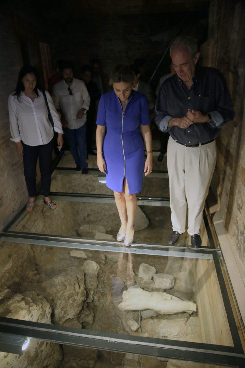 http://www.toledo.es/wp-content/uploads/2018/06/15_ruinas_romanas_amador_rios-800x1200.jpg. Milagros Tolón invita a descubrir los nuevos restos arqueológicos del conjunto romano termal público de la plaza Amador de los Ríos