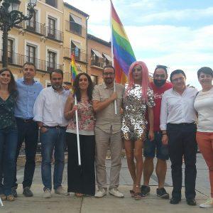 l Ayuntamiento respalda al colectivo LGTBI en el Día del Orgullo sumándose a la lucha por sus derechos