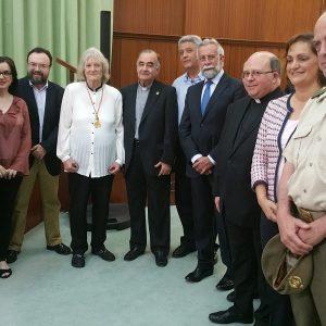 El Ayuntamiento participa en la entrega anual de premios de la Real Academia y Ciencias Históricas de Toledo