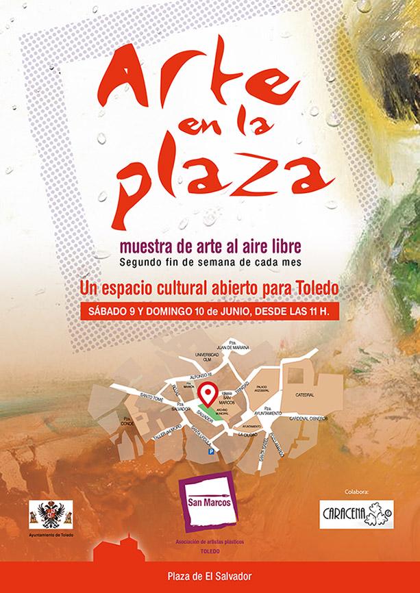 """https://www.toledo.es/wp-content/uploads/2018/06/2018junio_b.jpg. """"ARTE EN LA PLAZA"""""""