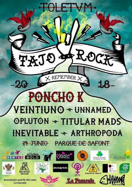 Cartel Tajo Rock