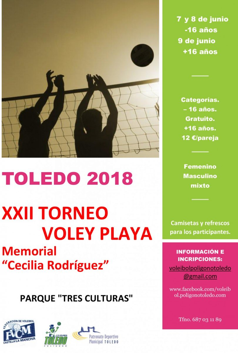 """XXII Torneo de Voley Playa """"Memorial Cecilia Rodríguez"""""""