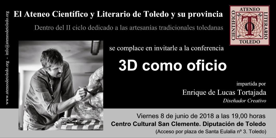 https://www.toledo.es/wp-content/uploads/2018/06/conferencia-tortajada-1.jpg. II Ciclo dedicado a la Artesanía tradicional toledana