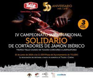 IV Campeonato Internacional Solidario de Cortadores de Jamón Ibérico