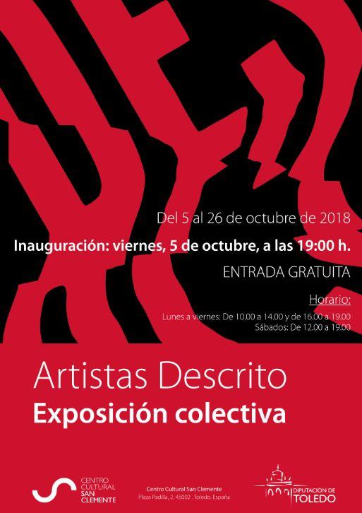 """Exposición colectiva """"Artistas Descrito"""""""