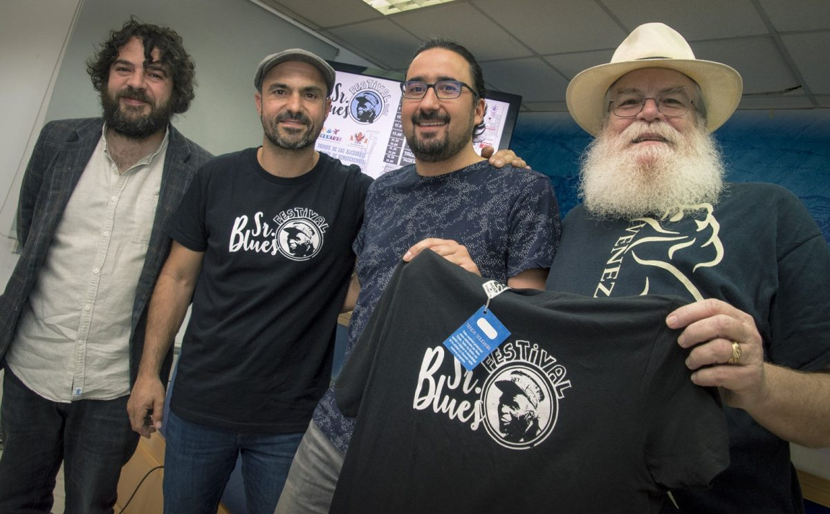 El parque de Los Alcázares del Polígono se convierte este sábado en escenario de las actividades y conciertos del 'Sr. Blues Festival'