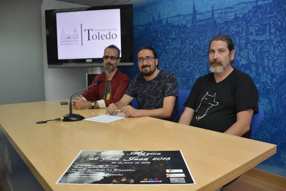 http://www.toledo.es/wp-content/uploads/2018/06/diego-mejias_noche-de-san-juan_1-1200x800.jpg. El Polígono y el Casco celebran este sábado la Noche de San Juan con hogueras, cuentos, danza, teatro, rituales y pasacalles