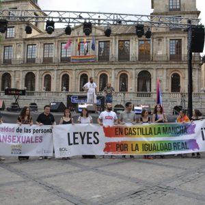 """a conmemoración del Día del Orgullo culmina en una gran manifestación para reivindicar """"nuestro derecho a ser y a amar"""""""