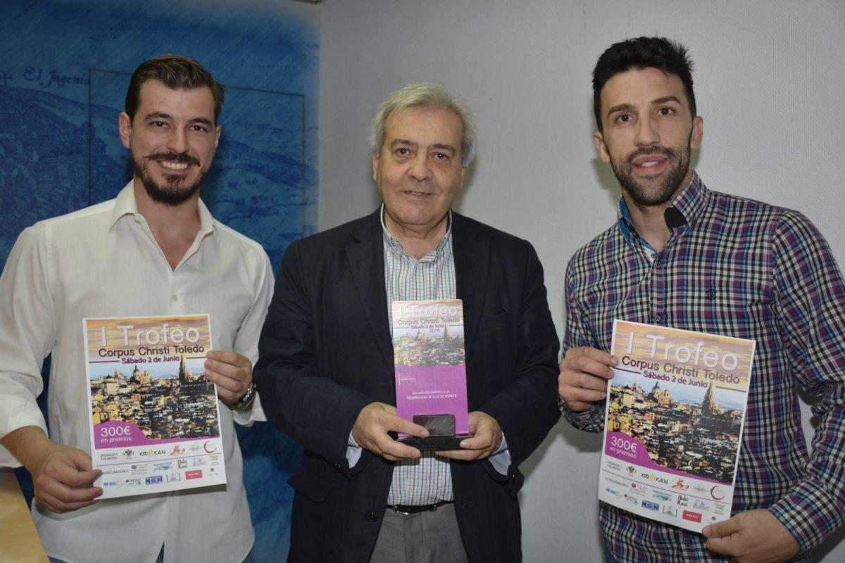 Toledo acoge este sábado el I Trofeo Corpus Christi de Kárate en el que participarán 600 deportistas de 50 clubes de toda España