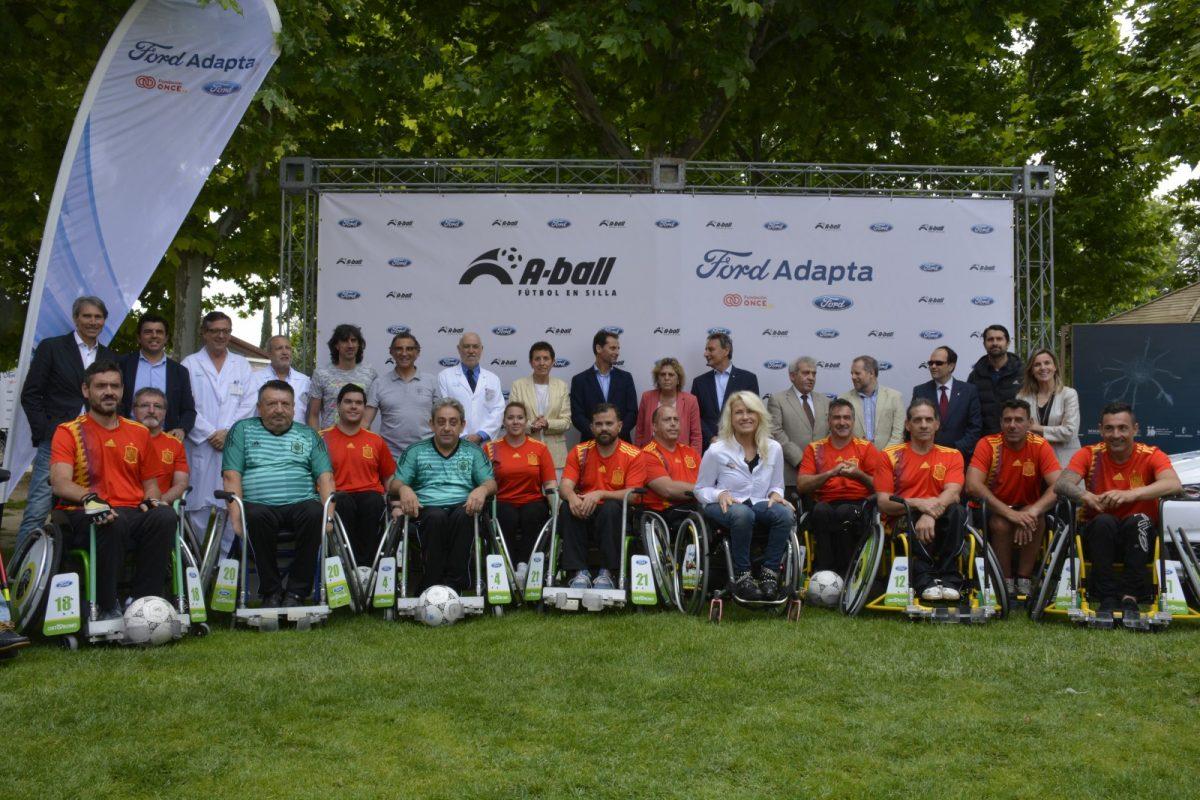 http://www.toledo.es/wp-content/uploads/2018/06/dsc1028-1200x800.jpg. El Ayuntamiento respalda la presentación nacional del A-Ball, una nueva modalidad deportiva de fútbol en silla de ruedas
