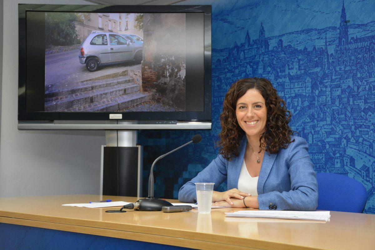 El Ayuntamiento finaliza la mejora del talud de Santa Ana e iniciará una rehabilitación puntual en la plaza de Don Fernando