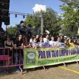 Arranca el Festival Tajo Rock Remember 2018 para volver a alzar la voz a favor del río y denunciar su maltrato