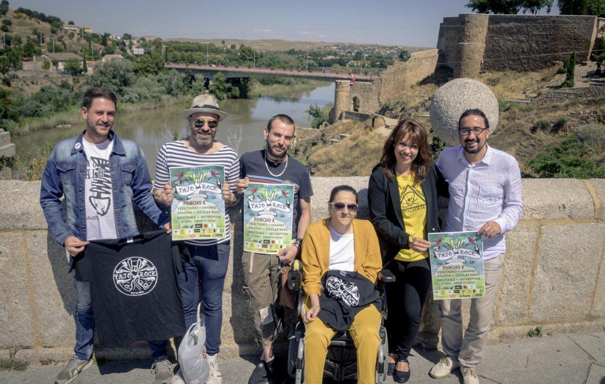 http://www.toledo.es/wp-content/uploads/2018/06/foto-presentacion-tajo-rock-remember-1200x761-1-1200x761.jpg. Poncho K, cabeza de cartel del Festival 'Tajo Rock Remember', que se reedita para alzar la voz y luchar por la agonía del río toledano