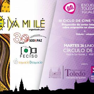 """II CICLO DE CINE """"IYÁ MI ILÉ"""" CORTOS INTERCULTURALES SOBRE MIGRACIÓN EN CLAVE FEMENINA"""