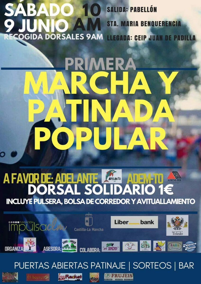 I Marcha y Patinaje Popular