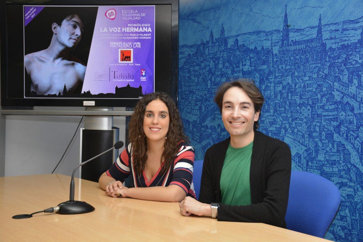 La propuesta escénica 'La voz hermana' llega este sábado a Matadero LAB como iniciativa de la Escuela Toledana de Igualdad
