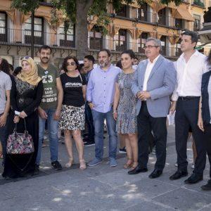 a Mesa Municipal de Apoyo a Personas Refugiadas organiza en Zocodover un acto por el Día Mundial de las Personas Refugiadas