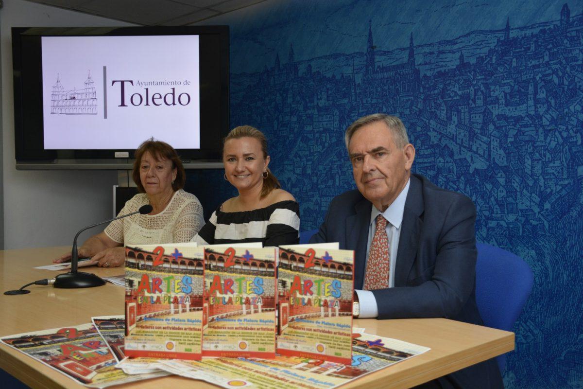 El Ayuntamiento fomenta las artes plásticas y los oficios artesanos a través de la Plaza de Toros y las actividades de 'Artes en la plaza'