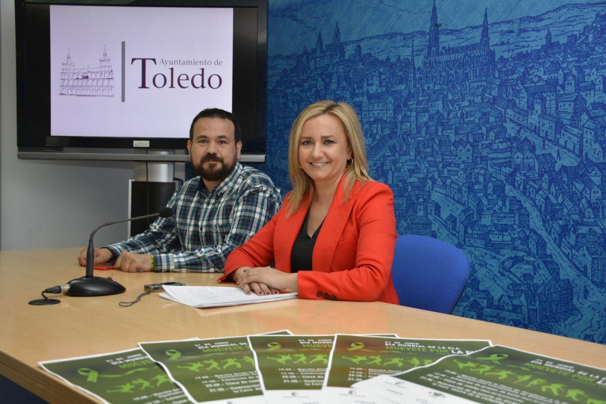 http://www.toledo.es/wp-content/uploads/2018/06/maria-teresa-puig_ela_1-1200x800.jpg. Toledo lidera la campaña 'Luz por la ELA' con actividades el día 21 y la iluminación en verde del Baño de la Cava y la Puerta de Alcántara