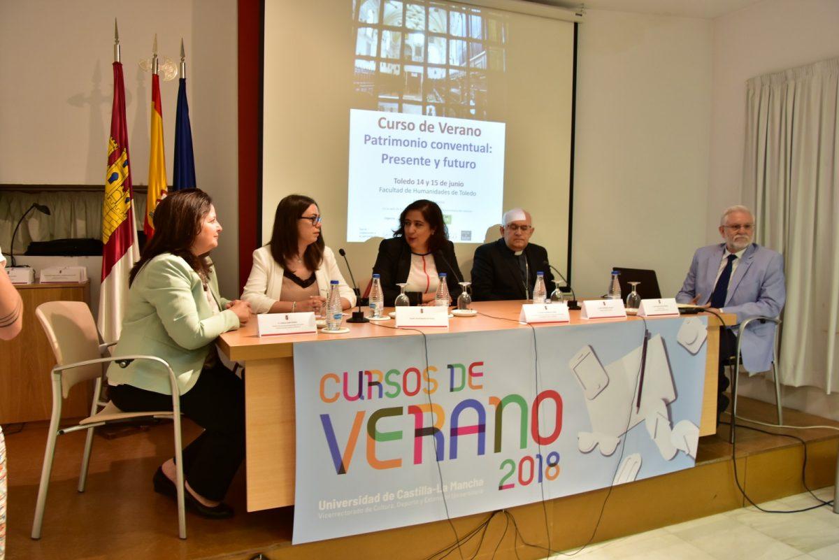 El Ayuntamiento se interesa por el patrimonio conventual de la ciudad a través de los cursos de verano de la Universidad regional
