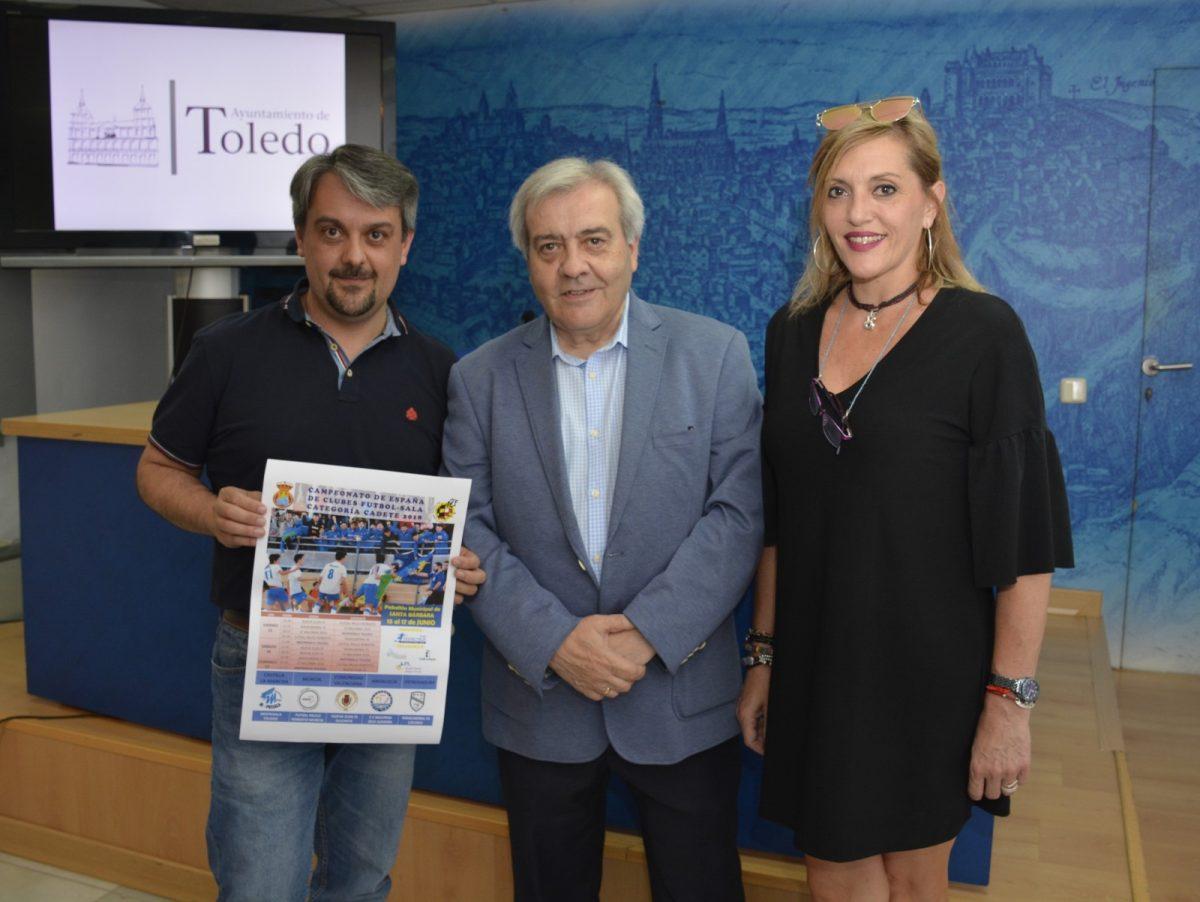 http://www.toledo.es/wp-content/uploads/2018/06/presentacion-campeonato-deportivos-1200x902.jpg. Los pabellones deportivos de Toledo estarán este fin de semana a pleno rendimiento con tres destacadas competiciones