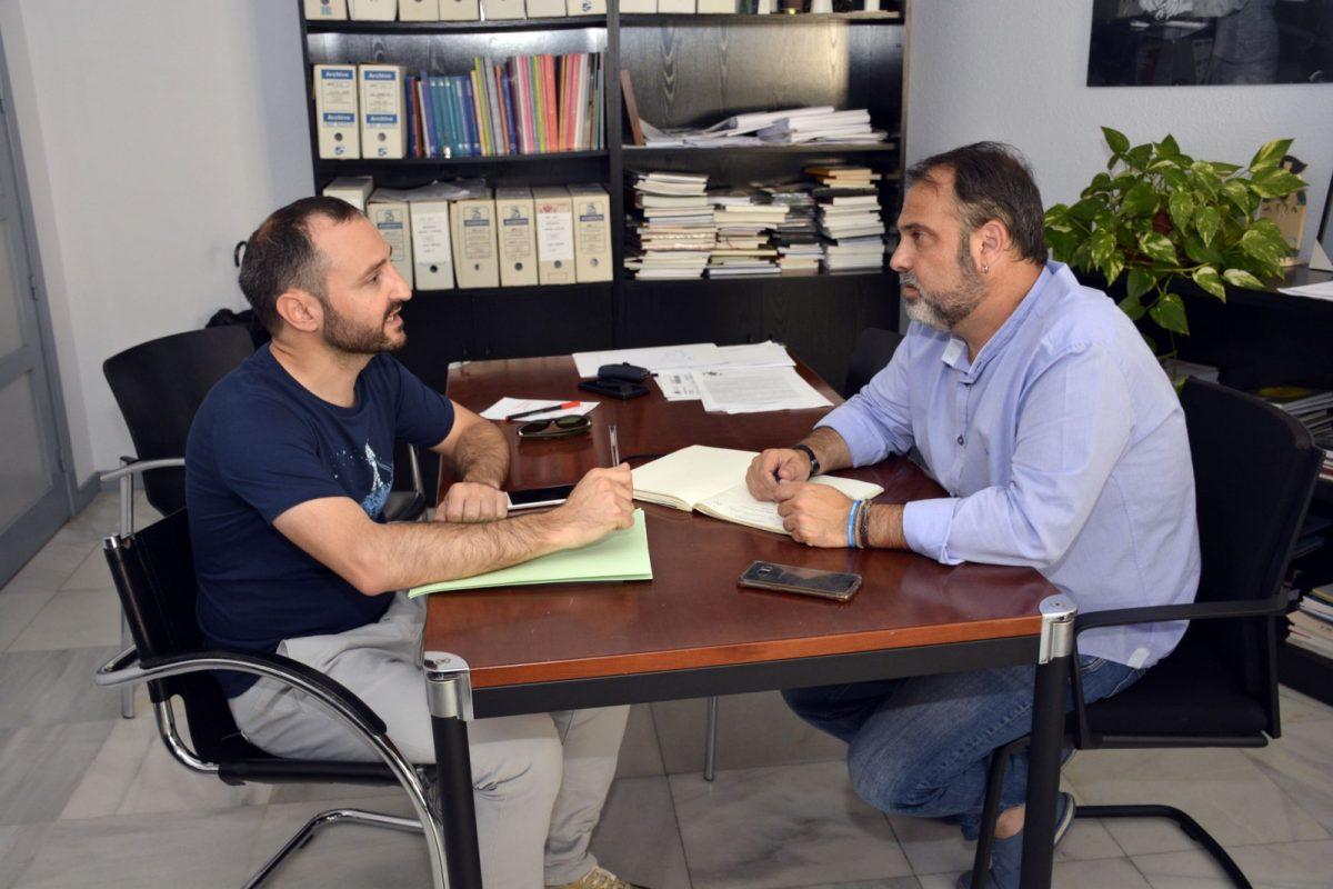 El Gobierno local mantiene un encuentro con el Colegio Oficial de Trabajo Social de Castilla-La Mancha