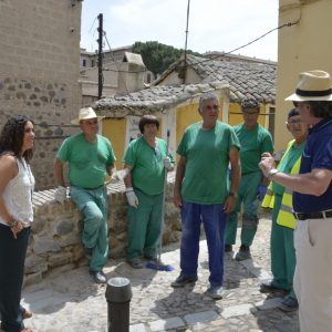 Continúa el Plan de Recuperación de Muros de Mampostería con dos intervenciones en el corredorcillo de San Bartolomé