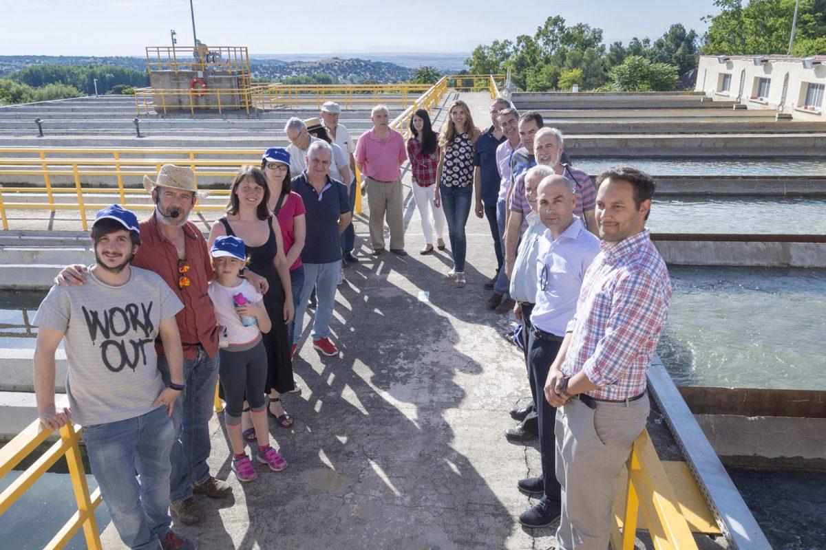 Ayuntamiento y Tagus abren las puertas de la presa del Guajaraz y la ETAP a la ciudadanía por el Día Mundial del Medio Ambiente