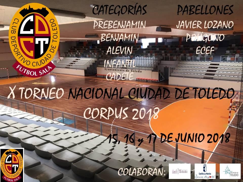 X Torneo Nacional Corpus Ciudad de Toledo Fútbol Sala