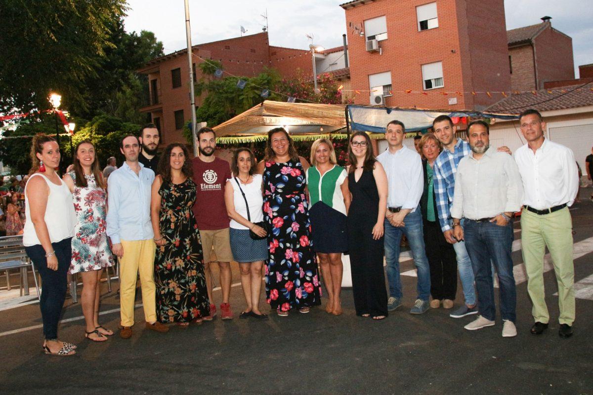 http://www.toledo.es/wp-content/uploads/2018/07/6298116-1200x800.jpg. Azucaica arranca sus tradiciones fiestas con el pregón de Laura González y el apoyo de miembros de la Corporación municipal