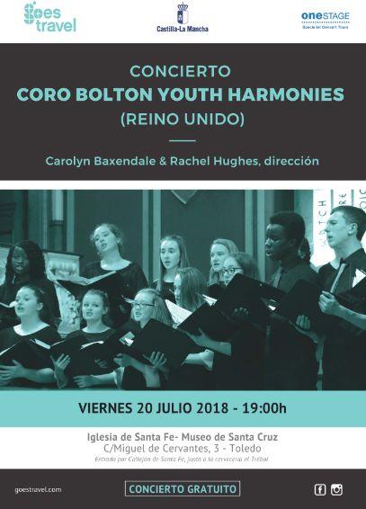 Concierto Coro Bolton Youth Harmonies