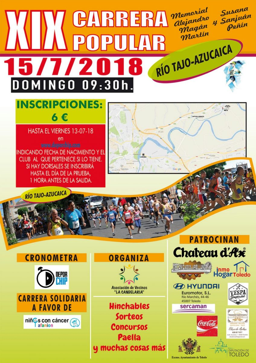 XIX Carrera Popular Río Tajo-Azucaica