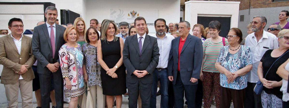 Inauguración Centro de Mayores Ángel Rosa