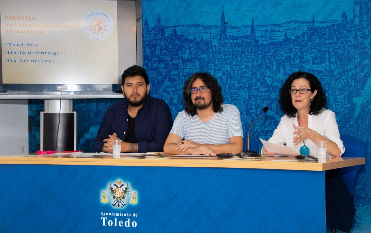El Ayuntamiento presenta la programación del I Foro Internacional 'Toledo Cultura de Paz' y abre las inscripciones