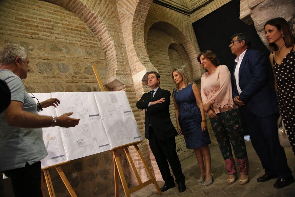 """http://www.toledo.es/wp-content/uploads/2018/07/mezquita-tornerias_1-1200x800.jpeg. Milagros Tolón destaca que los hallazgos arqueológicos en la Mezquita de Tornerías """"incrementan el valor patrimonial de Toledo"""""""