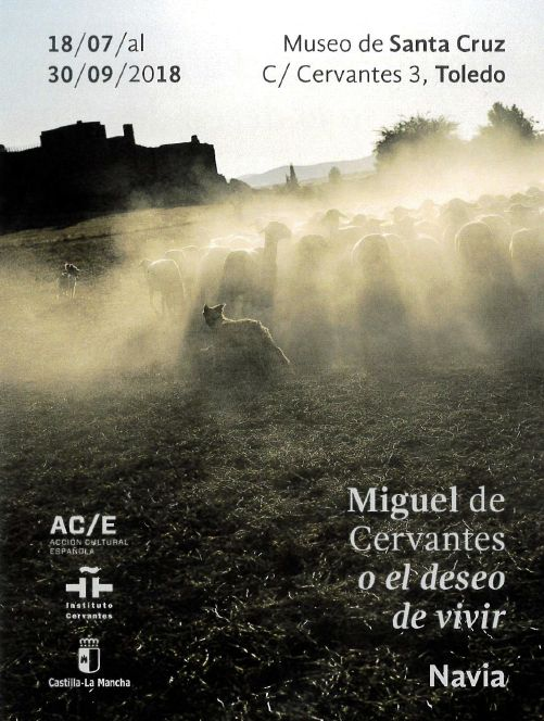 """https://www.toledo.es/wp-content/uploads/2018/07/miguel-de-cervantes.jpg. Exposición """"Miguel de Cervantes o el deseo de vivir"""""""