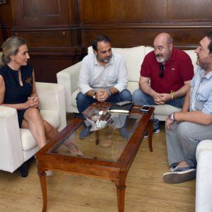 Milagros Tolón manifiesta el apoyo del Ayuntamiento al Día de la Educación Social que se celebra el 2 de octubre en Toledo