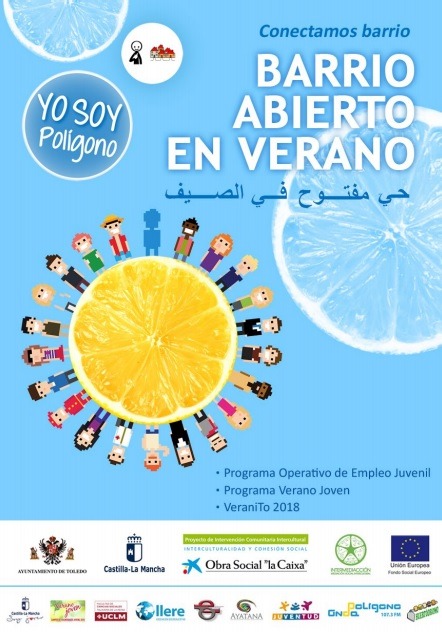 http://www.toledo.es/wp-content/uploads/2018/07/sin-titulo.jpg. El Ayuntamiento impulsa el IV Barrio Abierto de Verano en el marco del Proyecto de Intervención Intercultural en el Polígono