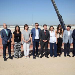 """Milagros Tolón destaca las """"grandes potencialidades"""" de Toledo en materia industrial con la ampliación y llegada de más empresas"""