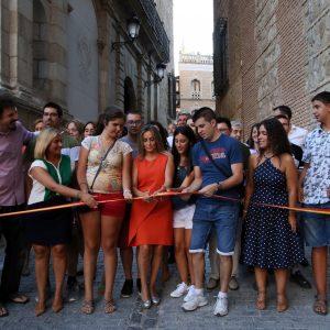 Arranca la Feria y Fiestas de Toledo con el chupinazo en el Ayuntamiento y la inauguración del recinto ferial